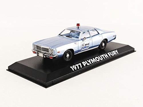 Greenlight 1977 PLYMOUTH FURY Model Politie Auto 12 cm Schaal 1:43 Originele Beverly Hills Cop Film