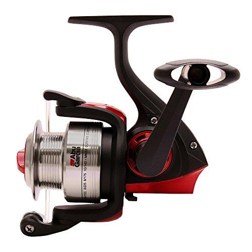 ABU GARCIA Cardinal - Combo de Surf Fishing, Color Negro