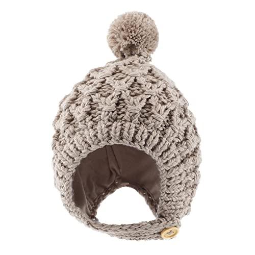 Sombreros para bebs de otoo e Invierno Sombreros Lindos para bebs Sombreros de Punto para nios Cmodo y Transpirable, Suave y clido-C3
