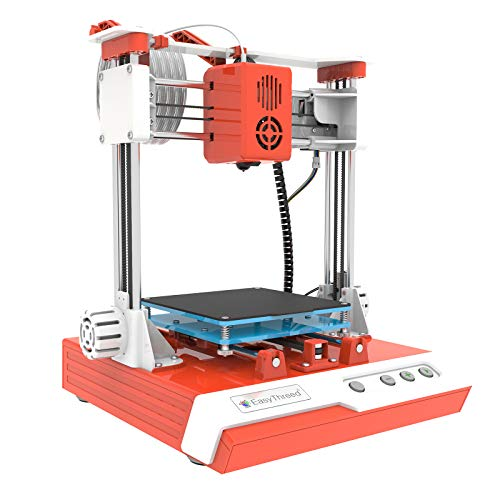 Aibecy Mini Desktop 3D Printer, 100 * 100 * 100mm Print Size High Precision Mute Printing with TF Card PLA Sample Filament for Kids Beginners Creativity Education Gift EasyThreed