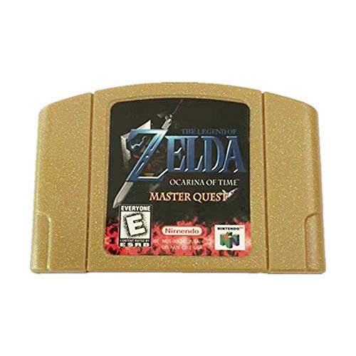 The Legend of Zelda Ocarina of Time-Master Quest Video Game Cartridge US Version for Nintendo 64 N64 Game