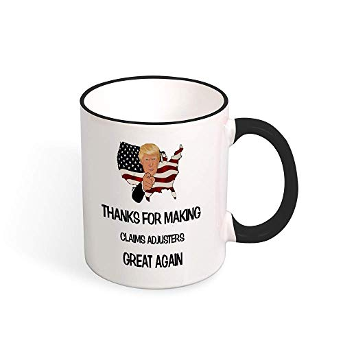11oz White Ceramic Coffee Mugs, Best Claims Adjuster Mug, Claims Adjuster, Claims Adjuster Mug, Claims Adjuster Gift, Claims Adjuster Coffee Mug, Claims Adjuster Gift Idea