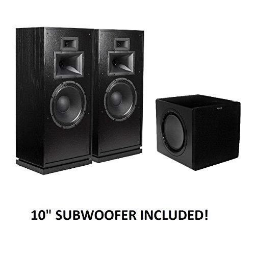 Why Choose Klipsch Forte III Heritage Series Speakers (Black) with Klipsch SW-311 Subwoofer Package