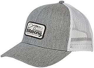 Men's Walled Trucker Hat Grey One Size