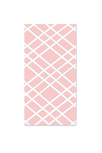 Select-Your-Color Fabric Bulletin-Memo Board Photo Frame with Ribbons Slim 9 x 24 Pink