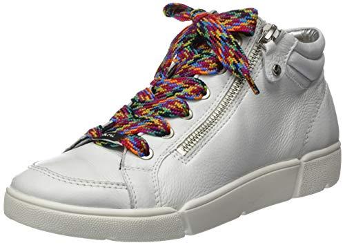 ara Damen ROM Hohe Sneaker, Weiss 13), 40 EU(6.5 UK)