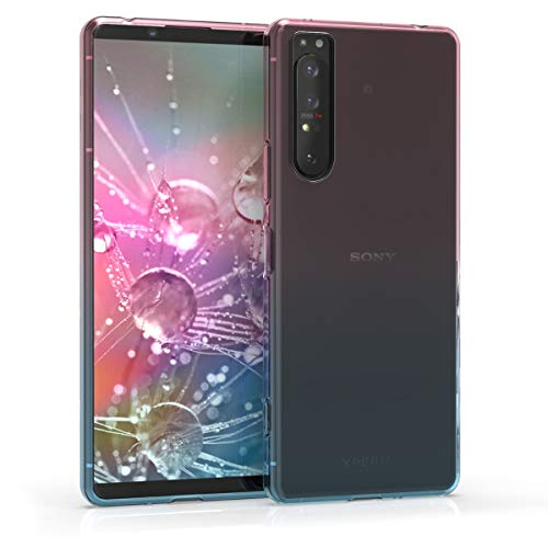 kwmobile Case Compatible with Sony Xperia 1 II - Clear TPU Soft Smartphone Cover