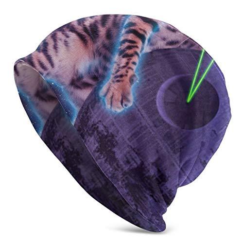 Lustige Laser Cat Hedging Cap Dünne Mode Cool Outdoor Warm Hedging Cap