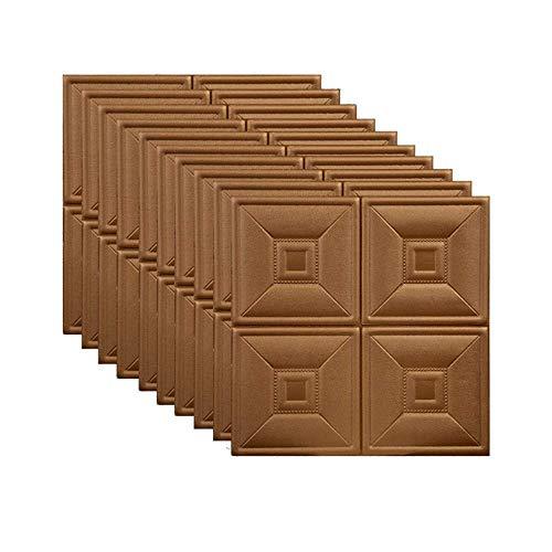 ZKORN Pegatinas De Pared Paneles De Pared Autoadhesivos 3D Papel Tapiz De...