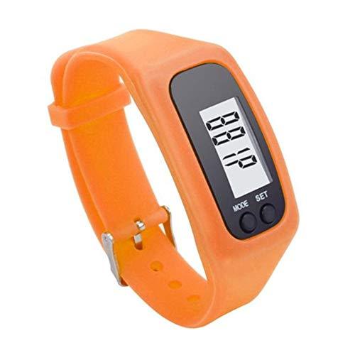 jiushixw Digitaler LCD-Schrittzähler Run Step Walking Distance Kalorienzähleruhr Armband 2020 Sport Smart Armbanduhr Armbandanzeige #P