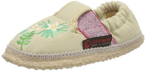 GIESSWEIN Pantoffel Amstetten - Leichter Baumwoll Slipper, atmungaktive Hausschuhe für Kinder, Mädchen Hausschuh, bequemer Slipper für Sommer