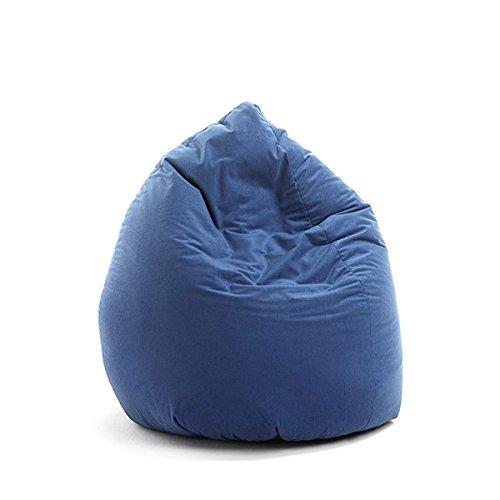 cocco lone by Valerian Design Sitzsack Mona Blau Uni Microfaser ca. 150 Liter
