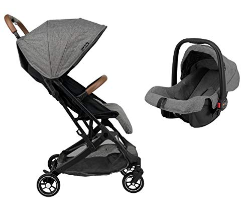 Silla de Paseo + Grupo 0 Star Ibaby Duo Plus. Color Gris.