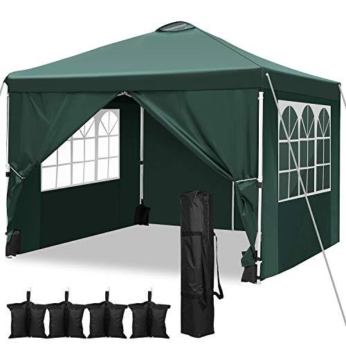 Pavillon Wasserdicht Faltpavillon 3x3...