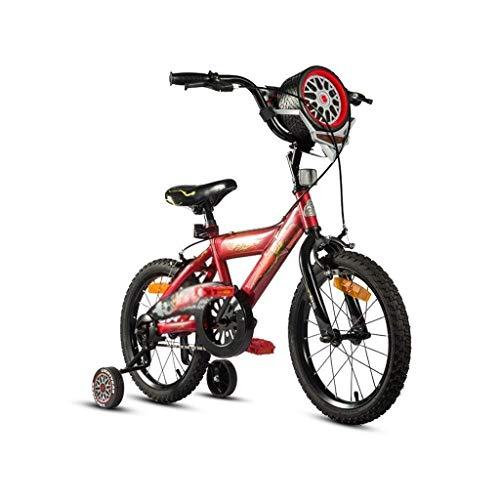 HUAQINEI Niño niña niños niños niño Bicicleta Bicicleta niño Bicicleta Estudiante Bicicleta niño Bicicleta niño Rojo: 14/16 Pulgadas Bicicleta Infantil