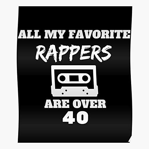 Rap New of Leader The School Hip Hop Old Rappers Impressionanti Poster per la Decorazione della Stanza Stampati con L'Ultima Tecnologia Moderna su Carta semilucida