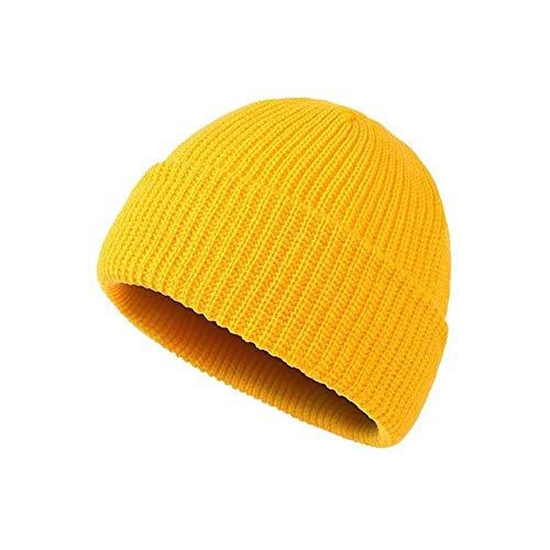 Nuevo Otoo Invierno Moda Pareja Cap Street Hombres Mujeres Tejido Clido Casual Damas Beanie Sombreros para nios-a9