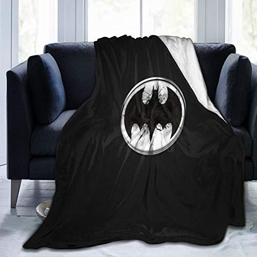Why So Serious Joker Batman, manta ligera para niños y adultos, manta de franela suave y cálida para cama, sofá, camping y viajes