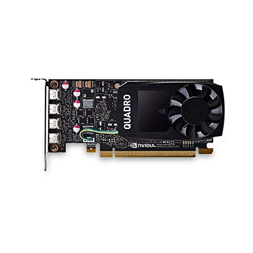 NVIDIA Quadro P1000 4GB GDDR5 128bit PCI Express 3.0 x16 Graphics Card (VCQP1000-PB)