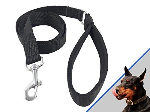 wolfsgen Profi Hundeleine – für große und kleine Hunde 180 cm Länge | weiche Neopren-Handschlaufe | Umhänge Funktion | Leine Hund | Führleine Hund | Joggingleine