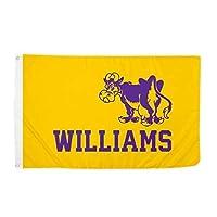 Desert Cactus Williams College Ephs NCAA 100% Polyester Indoor Outdoor 3 feet x 5 feet Flag [並行輸入品]