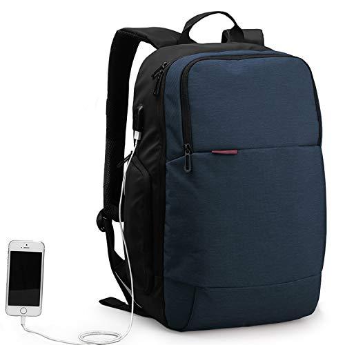 WindTook Business Rucksack Reise Laptop Backpack 15.6 Zoll mit USB Anti-Theft Laptop Tasche Daypack und Tagesrucksack für Herren und Damen Wasserabweisend