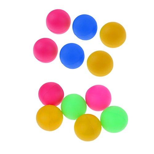12pcs Pelotas De Tenis De Mesa De La Playa Cerveza Ping Pong Coloridas Bolas De Gato - Color C