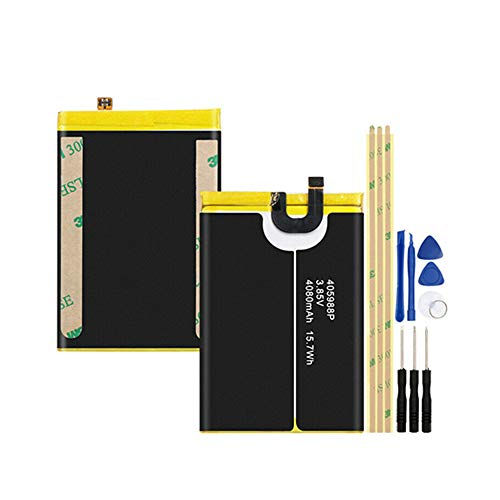 WXKJSHOP 405988P - Batería de repuesto compatible con A60 (3,85 V, 4080 mAh)