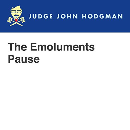 The Emoluments Pause audiobook cover art