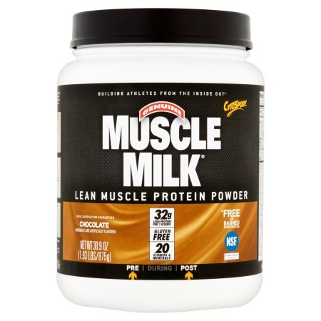 Muscle Milk Protein Powder Chocolate - 1.93 lbs (Pack of 4)