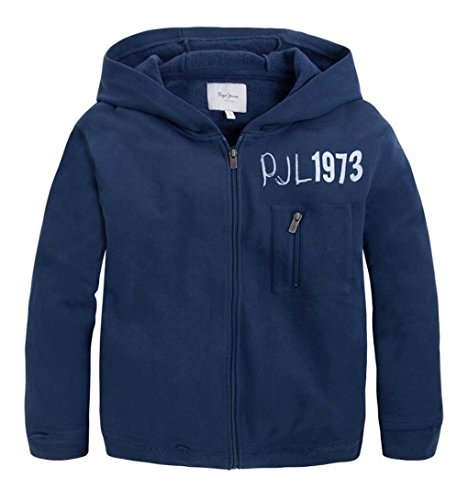 Pepe Jeans Boys Sweatjacke Leto jr, Fb. Ocean Blue (Gr. 14/164)