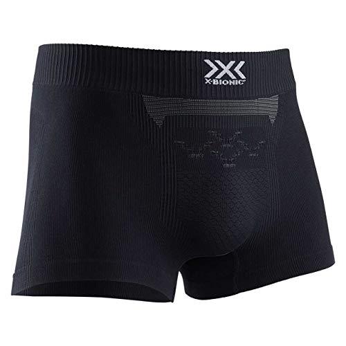 X-Bionic Herren Energizer 4.0 Boxer Shorts, Opal Black/Arctic White, L