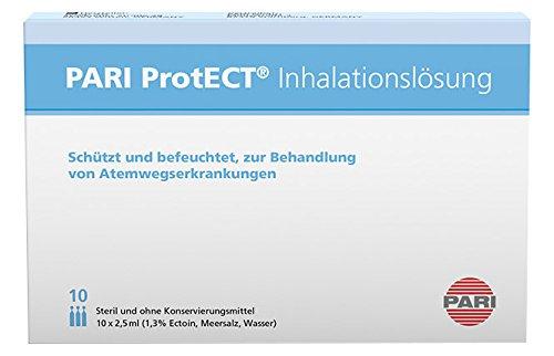 Pari ProtECT Inhalationslösung 077G6002 , 10 x 2.5 ml