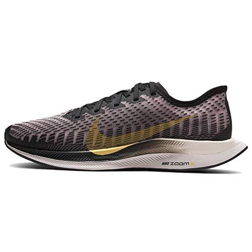 Nike Zoom Pegasus Turbo 2 Women's Running Shoe Black/Infinite Gold-Plum Chalk Size 9.5