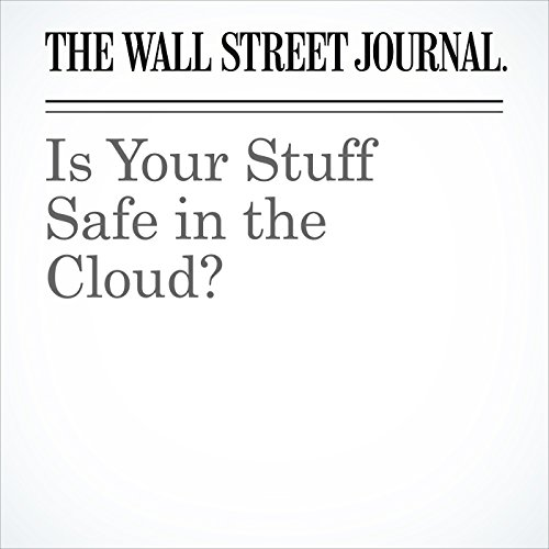 Is Your Stuff Safe in the Cloud? copertina