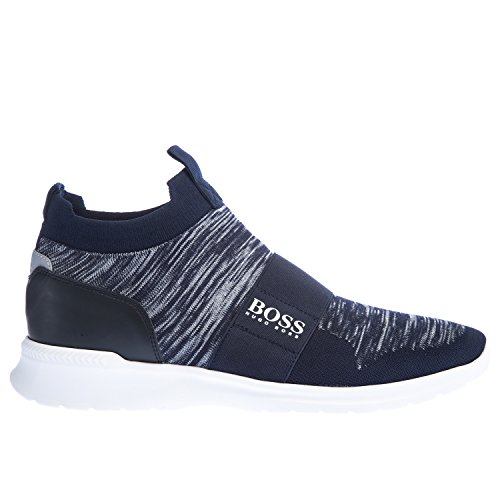 BOSS Extreme Slon Trainer in Navy 10 UK