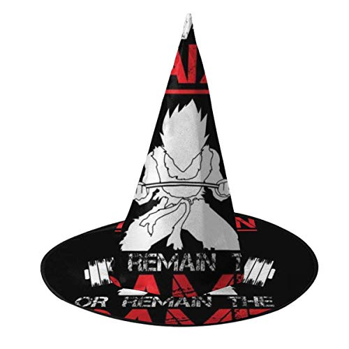 Sombrero de Halloween Vegeta Train Insaiyan Sigue Siendo el Mismo Dragon Ball Z Sombrero de Bruja Halloween Disfraz Unisex para Vacaciones Halloween Fiesta de carnavales navideos