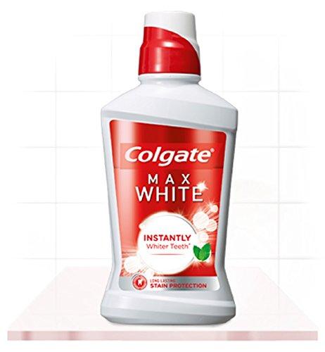 Colgate - Plax whitening mundspülung/mundwasser gegen bakterieun und zahnbelag/beugt zahnverfärbung vor / 500ml