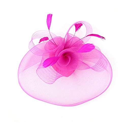 HYMD Fascinator Sombrero 1 PC Mujeres para Mujer Clip Clip DE CIOR...