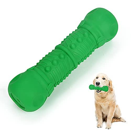 Pethee Hundespielzeug, unzerstörbar Quietschendes Kauspielzeug Outdoor Pet Training Naturkautschuk Toy Large Medium Breed Dog Zahnbürste Zahnpflege