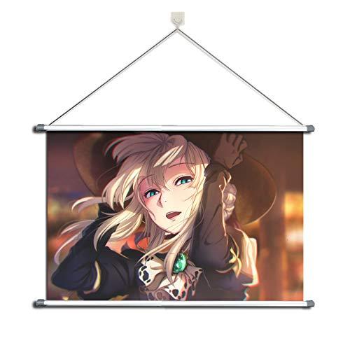 Wandposter / Rollposter, Motiv: Violetter Evergarden, Metalllegierung, (H0999), 60 x 40 cm