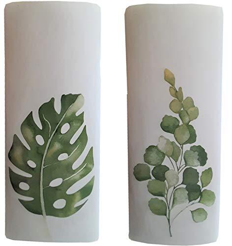Carat 2er Set Luftbefeuchter für Heizung Keramik/Ton - Wasserverdunster – für Heizkörper - neutral