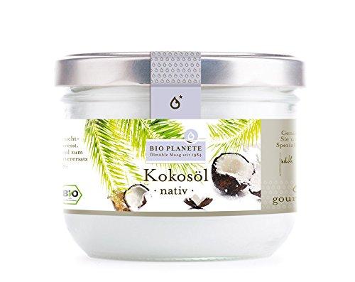 Bio Planète Kokosöl nativ, 2er Pack (2 x 400 g)