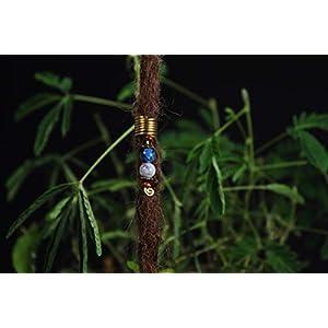 Dread Bead, Drahtperle, Wire Bead for Dreadlocks, Handmade