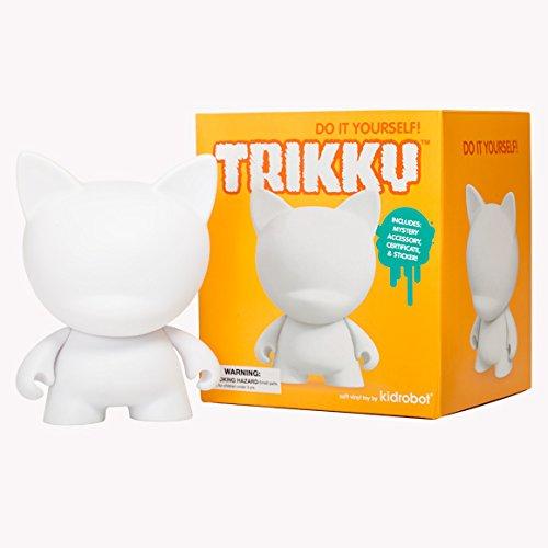 Kidrobot Munny World Figur Trikky zum Selbergestalten, 16,5 cm
