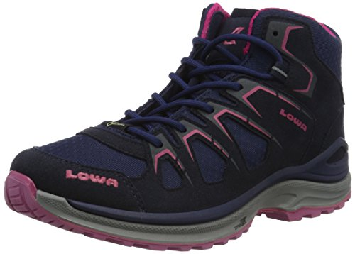 Lowa Innox Evo GTX QC WS, Scarpe da Arrampicata Donna, Blu (Navy/Fuchsia 6918), 39 EU