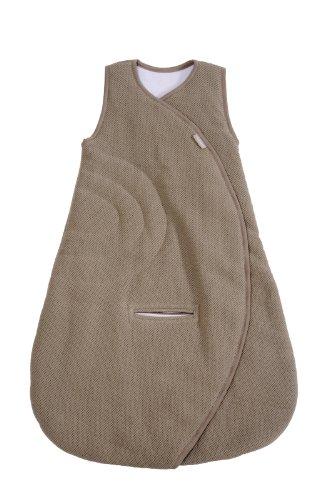 Bellemont Schlafsack Colorama, 0 bis 6 Monate, 70 cm, Jacquard/Jersey, Taupe