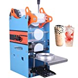 Manual Cup Sealing Machine 300-500 Cups/Hour Electric Cup Sealer for 180mm Tall &95mm Cup 110V US Plug