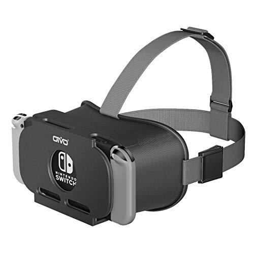 OIVO Gafas VR de Realidad Virtual para Nintendo Switch, 3D VR Glasses Visión Panorámico, VR Googles para Nintendo Switch