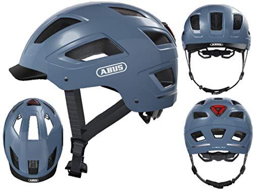 Abus HYBAN 2.0 Casco de Bicicleta, Unisex Adulto, Azul (Glacier Blue), Extragroß